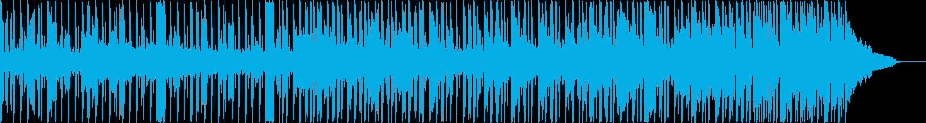 電気楽器。ポジティブな企業ビジネス...の再生済みの波形