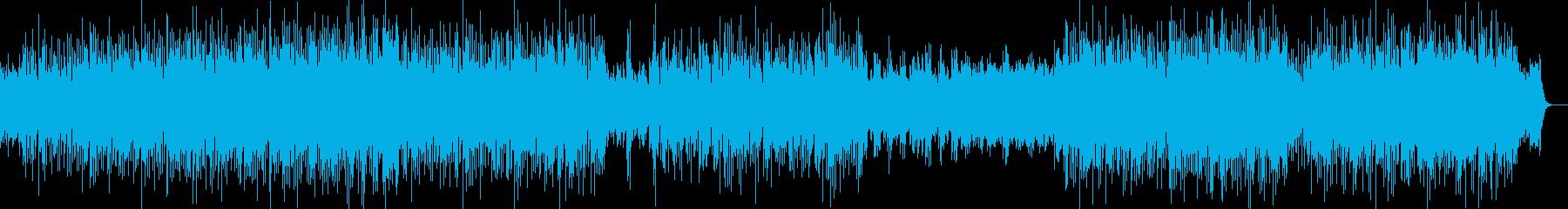 中華・チャイナ風・ほのぼの明るいポップ曲の再生済みの波形