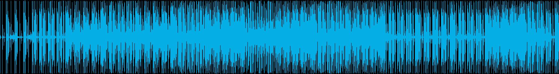 誰かを待ち伏せしている様な怪しいビートの再生済みの波形