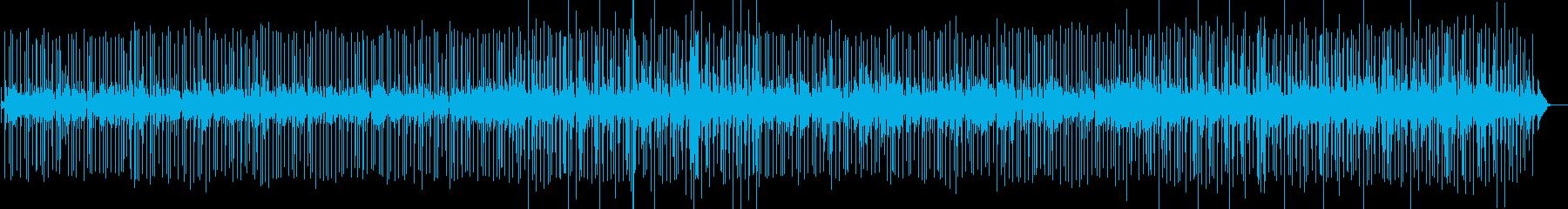 鎮魂をテーマにしたR&Bの再生済みの波形