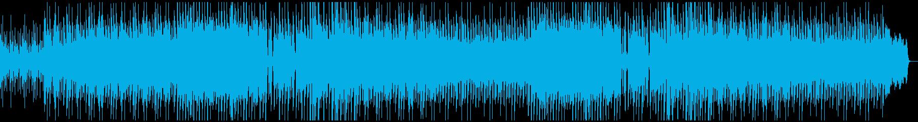 透明感のある、おだやかで使いやすいBGMの再生済みの波形