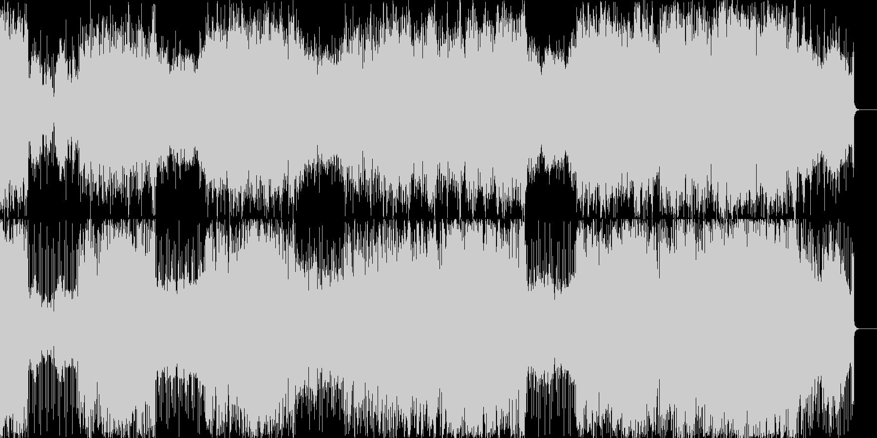 マジックショーのBGM。不思議な雰囲気の未再生の波形
