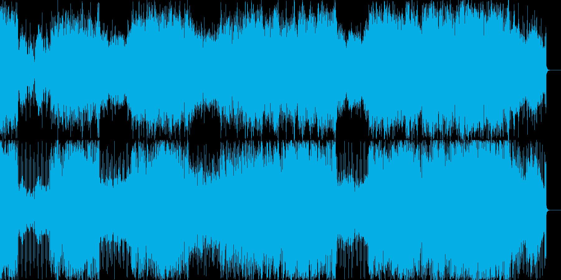 マジックショーのBGM。不思議な雰囲気の再生済みの波形