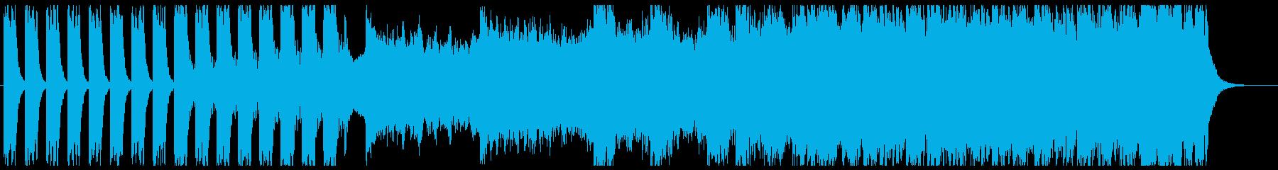 緊張感を演出するエピックオーケストラ2の再生済みの波形