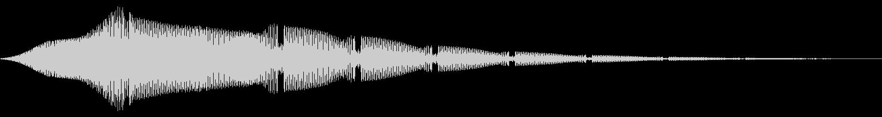ステータスアップ・アイテムゲット2の未再生の波形