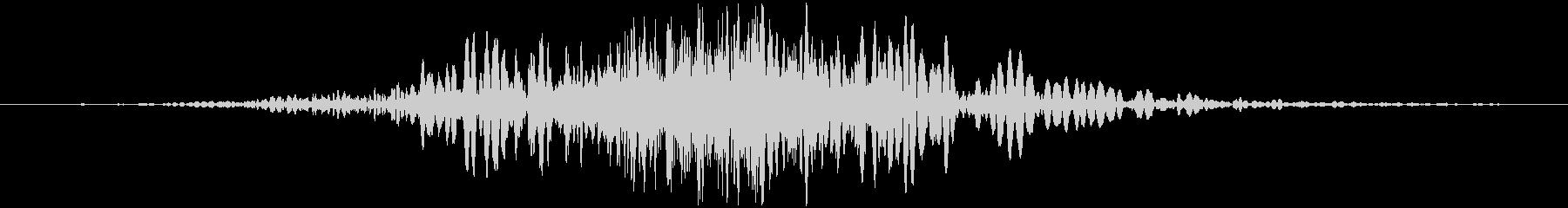 斬撃 ファイヤーノイズブラストラージ01の未再生の波形