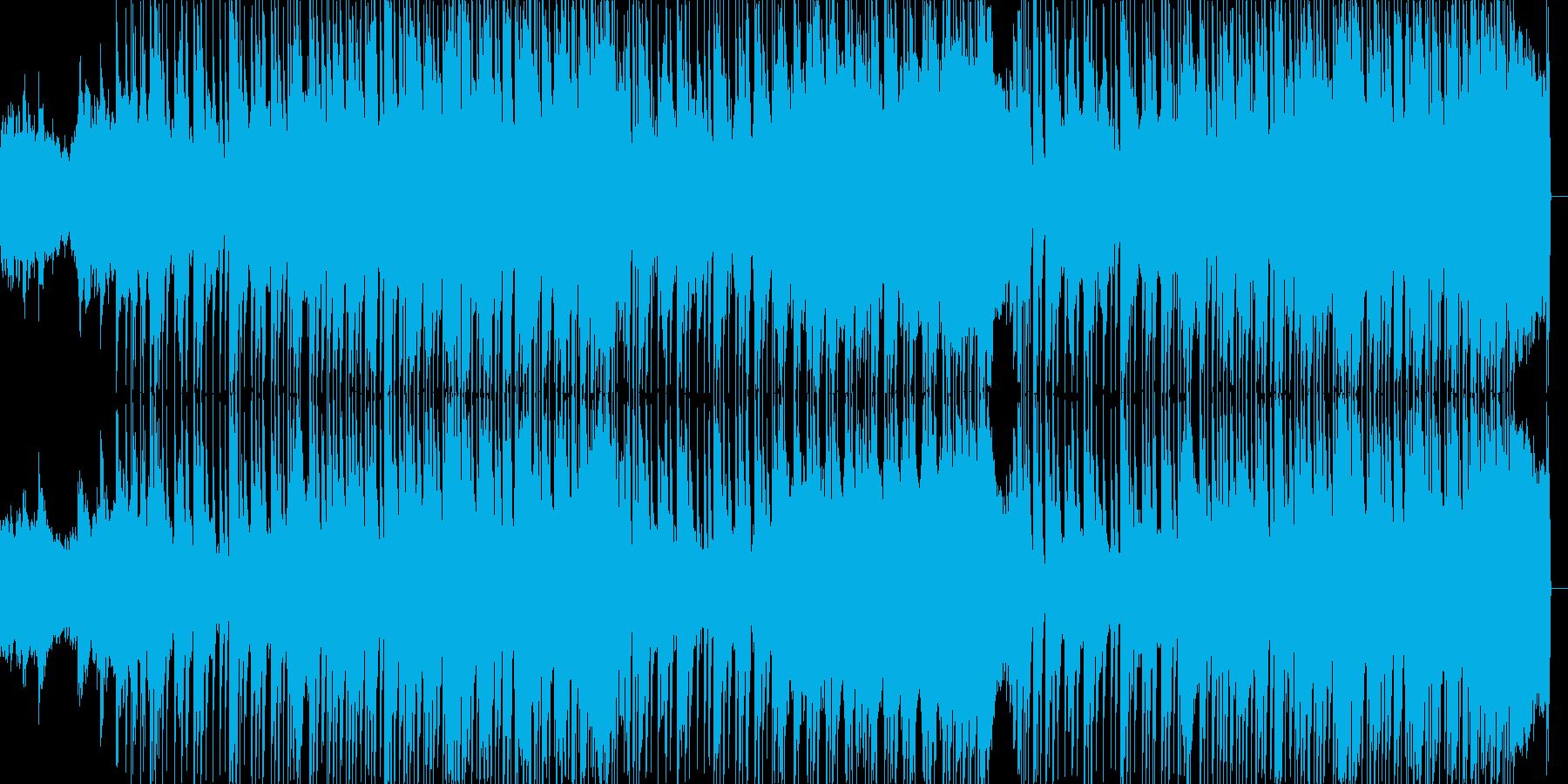 都会的で大人なスタイリッシュなドラムンの再生済みの波形