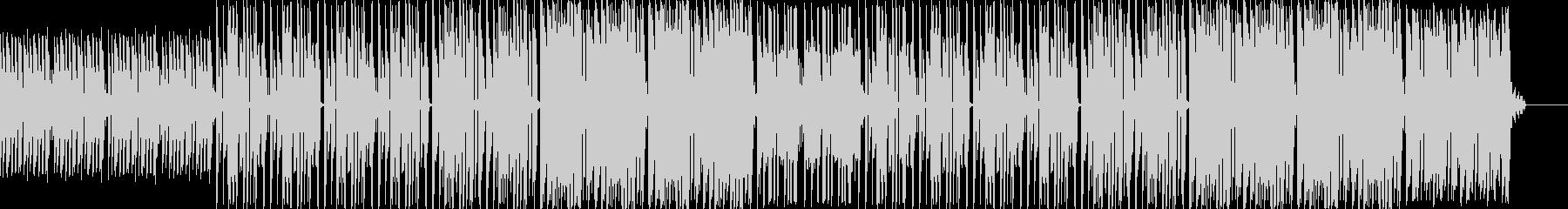 ラップ用ビート◆幻想的でノリのいいピアノの未再生の波形