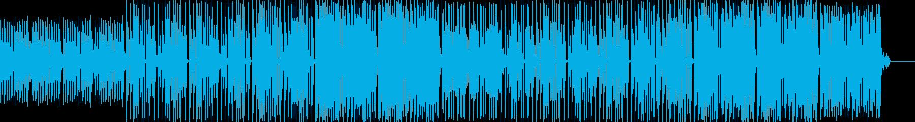 ラップ用ビート◆幻想的でノリのいいピアノの再生済みの波形