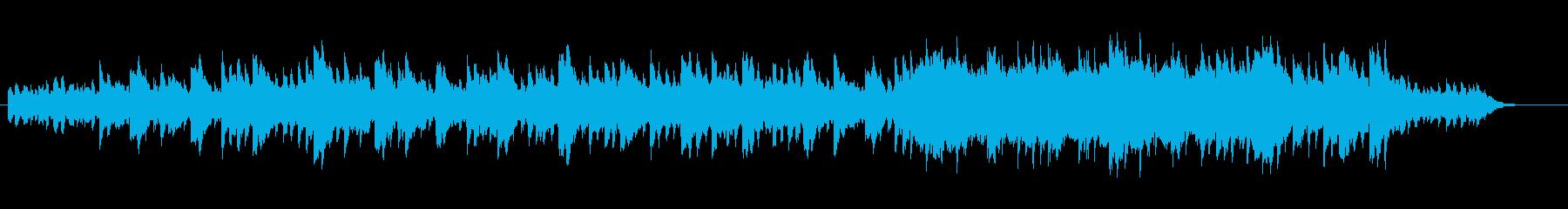 洋館の悲しい不穏なオルゴールの再生済みの波形