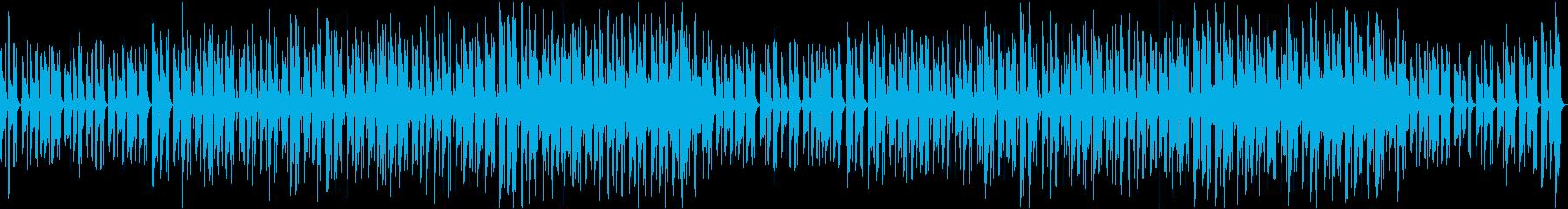 爽やかゆったりほのぼの軽快なボサノバgの再生済みの波形