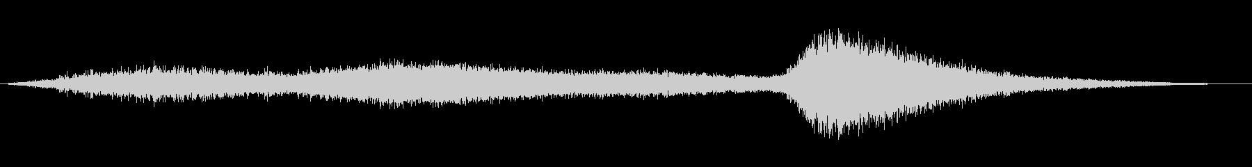 SPIRIT HISS 2の未再生の波形