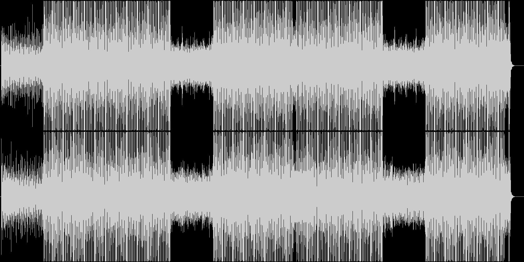 幻想的なシンセウェーブポップ♬の未再生の波形