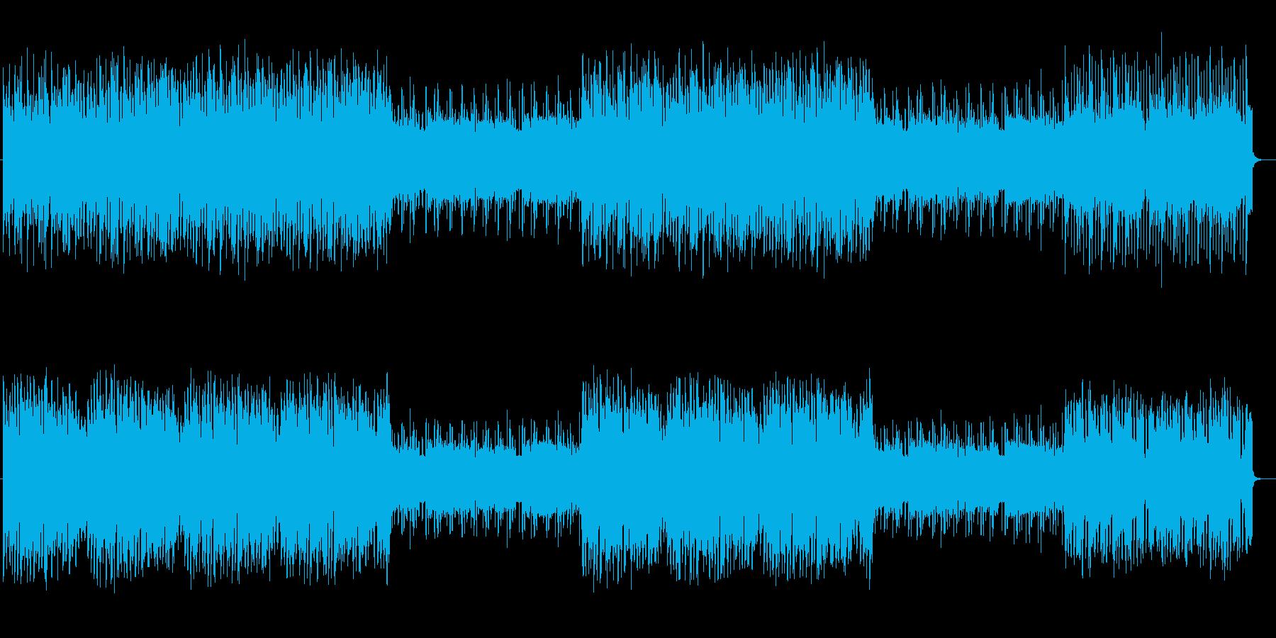 不思議で暗めのシンセポップの再生済みの波形