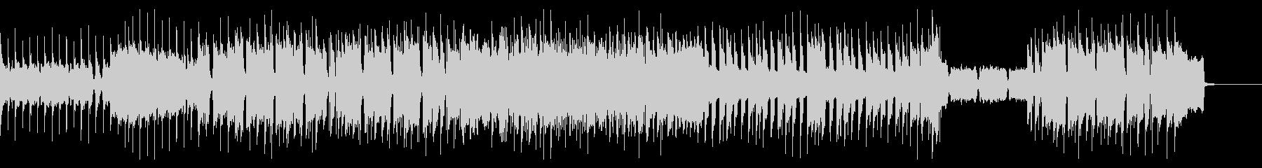 ザ・ロックなインスト(ギターソロ抜き)の未再生の波形