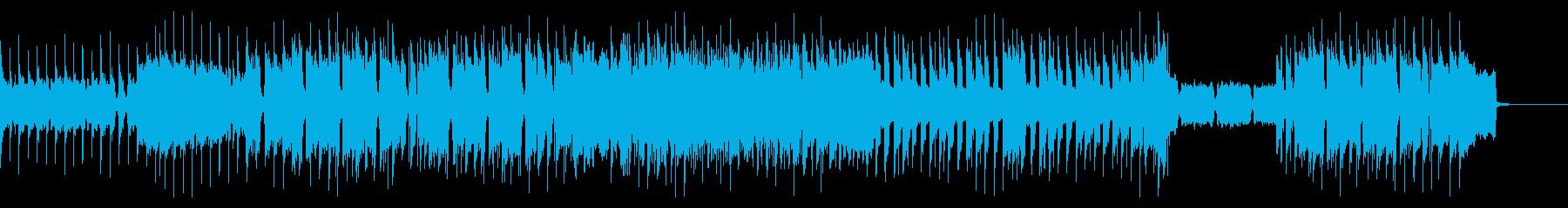 ザ・ロックなインスト(ギターソロ抜き)の再生済みの波形