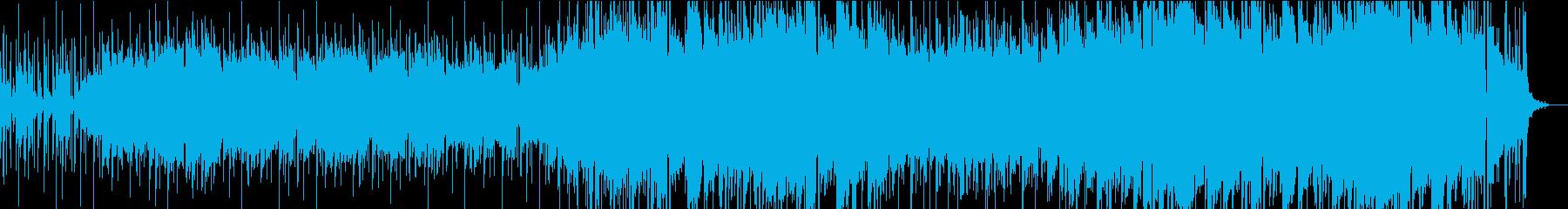 ファンタジックな世界観のエレクトロニカの再生済みの波形