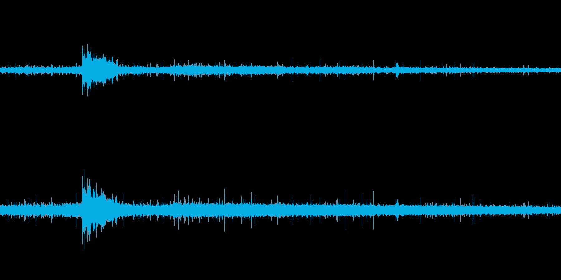 雷の雨のループ(ザーガココ)の再生済みの波形