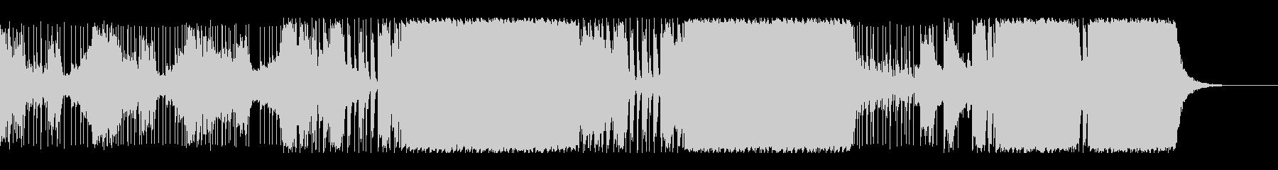 実験的な 不思議 奇妙 シンセサイ...の未再生の波形