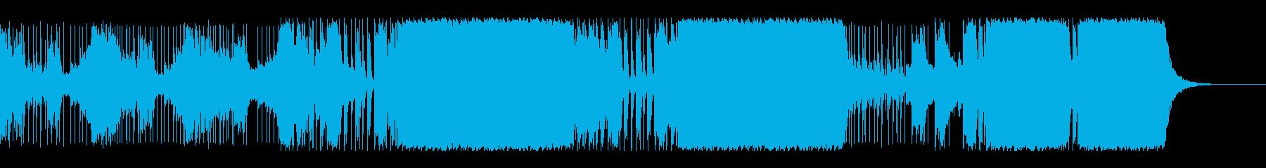 実験的な 不思議 奇妙 シンセサイ...の再生済みの波形