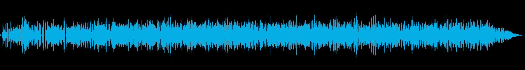 螺旋 渦巻 ぐるぐるする感じの再生済みの波形
