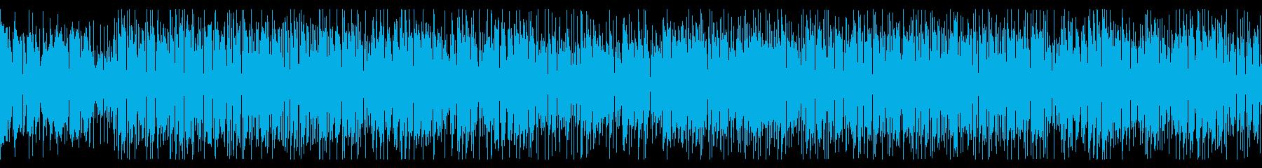 クールなギターカッティング/ファンク調の再生済みの波形