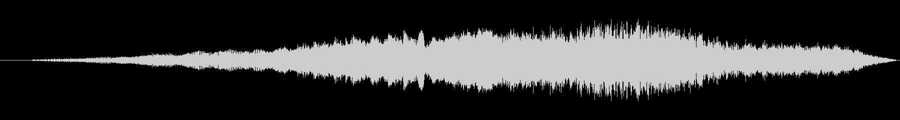ロングシンセワインドアップの未再生の波形