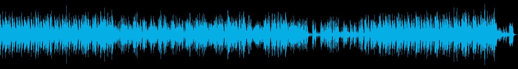 クールでゆったりしたジャズトラックの再生済みの波形