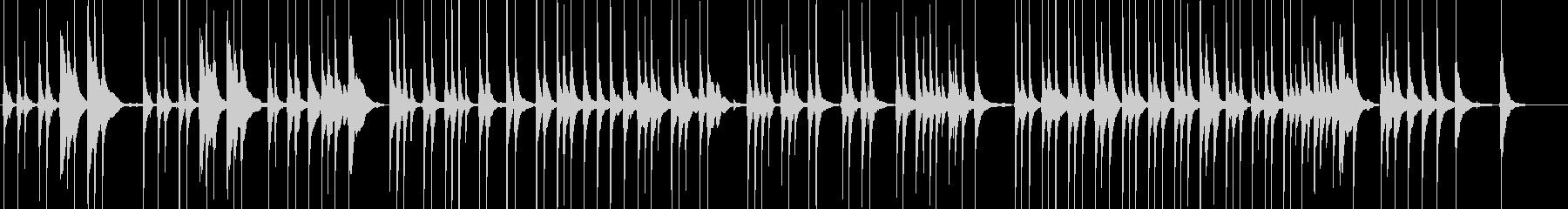 三味線177浅妻船1日本舞踊大津琵琶湖白の未再生の波形
