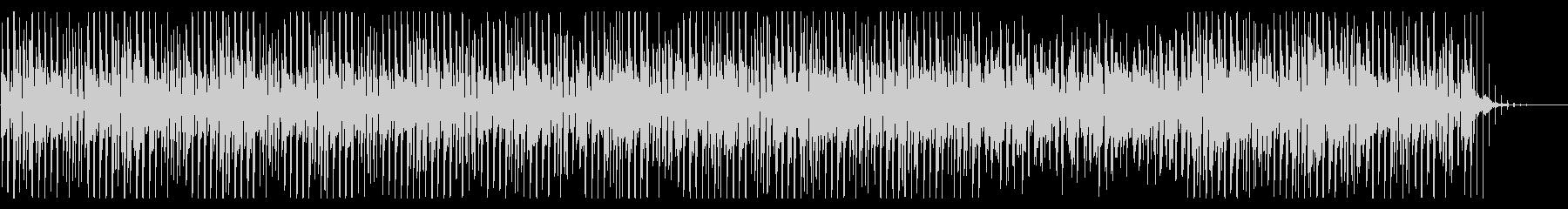 ふわふわでかわいいアコースティックBGMの未再生の波形