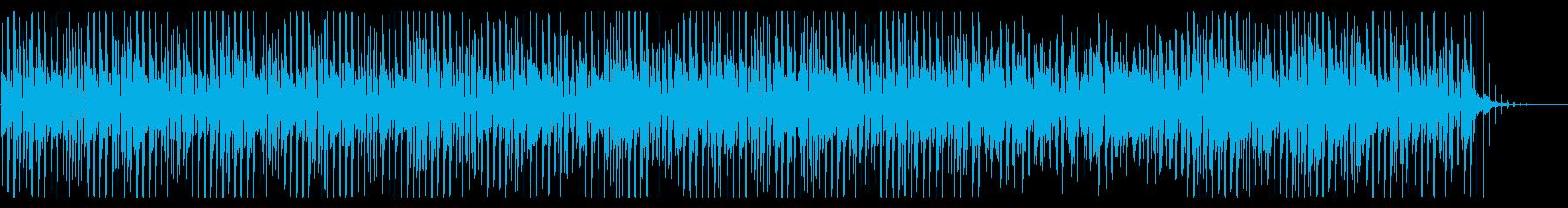 ふわふわでかわいいアコースティックBGMの再生済みの波形