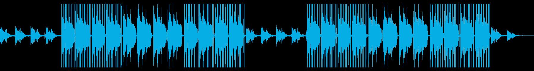 チルアウトなビートとピアノ。の再生済みの波形