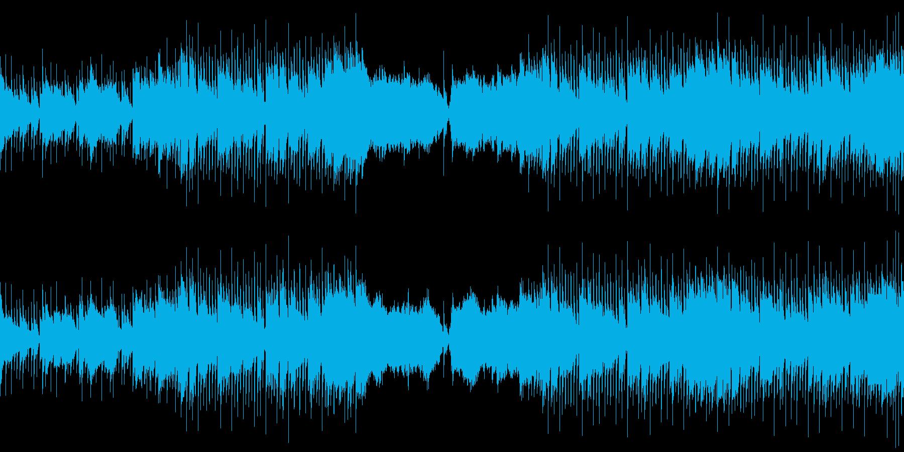 ほのぼの・ドキュメンタリー映像・ジャズの再生済みの波形