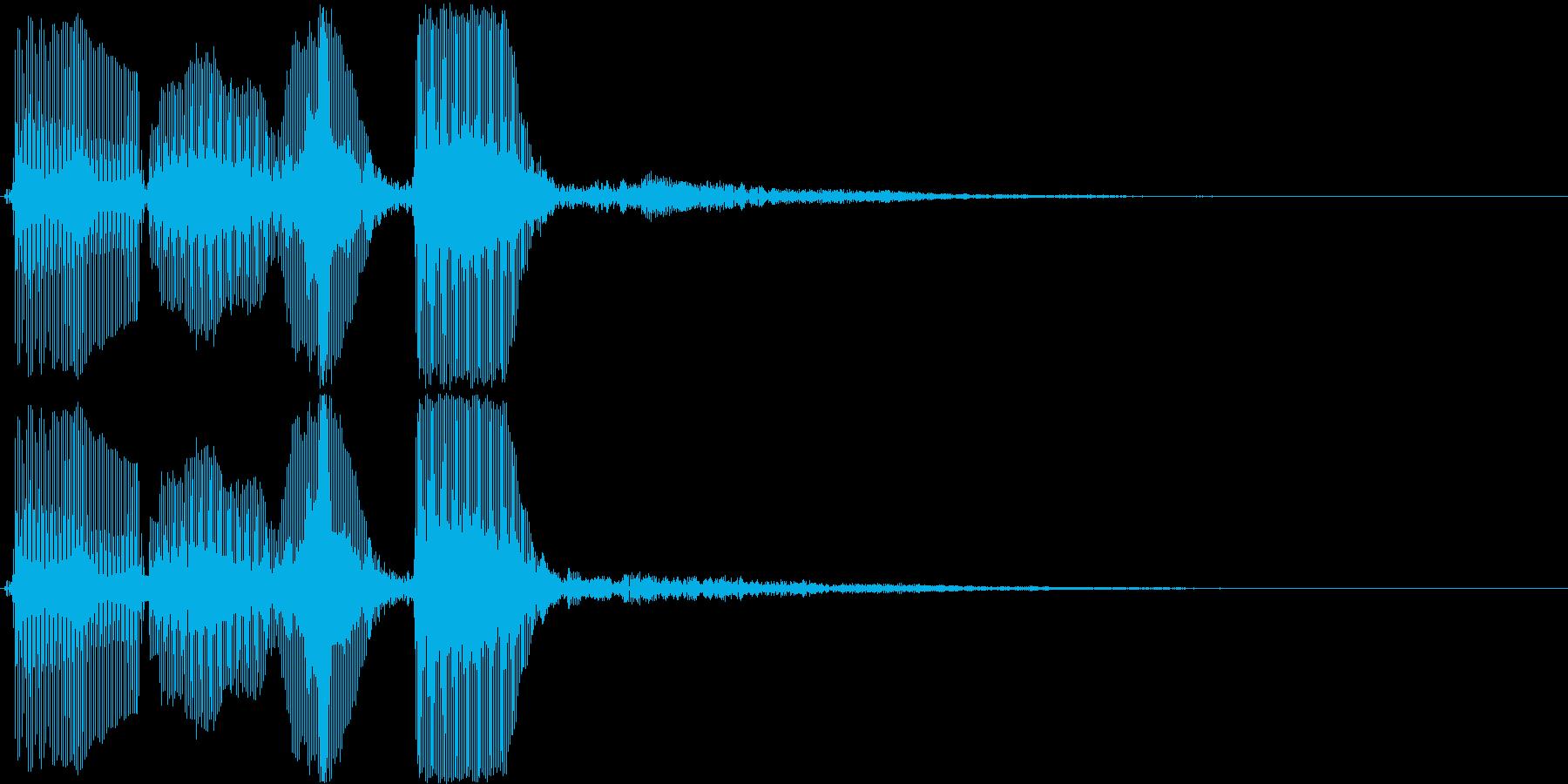 トランペット/パラララン・場面転換などにの再生済みの波形