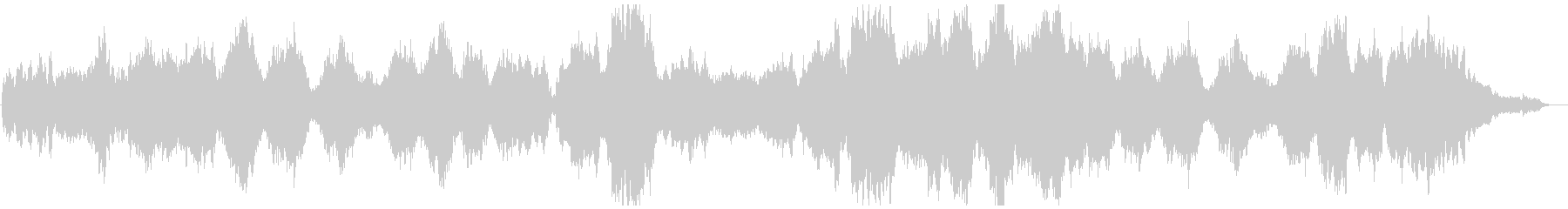 プログレッシブ 交響曲 広い 壮大...の未再生の波形