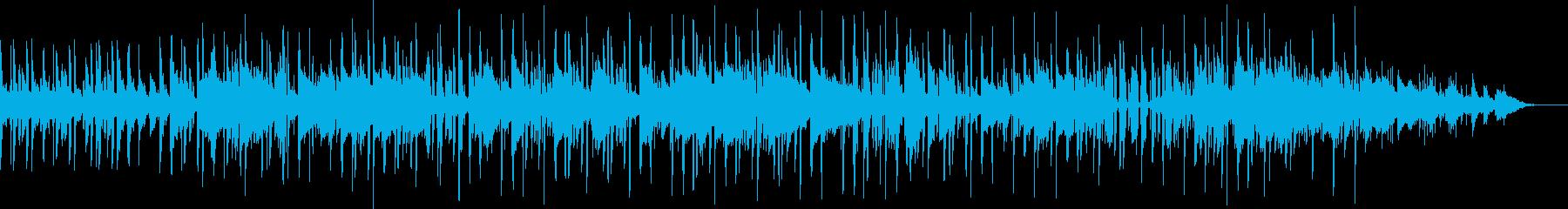 フレンチポップなchill&lofiの再生済みの波形