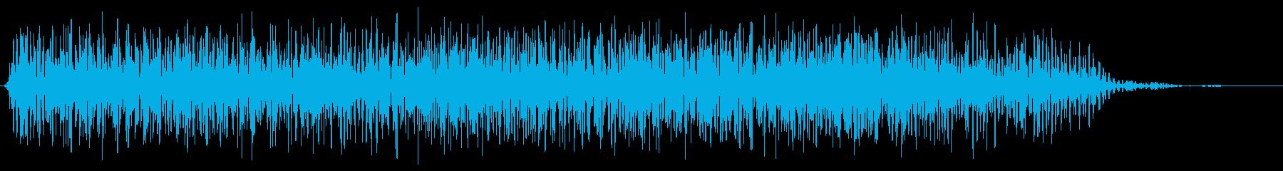 モンスター 威嚇 07の再生済みの波形
