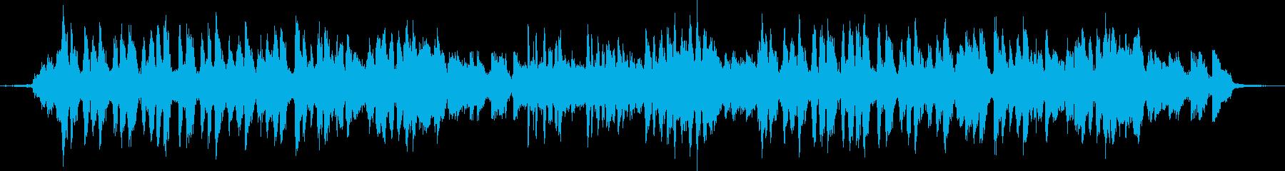 七草をテーマにした楽曲の再生済みの波形