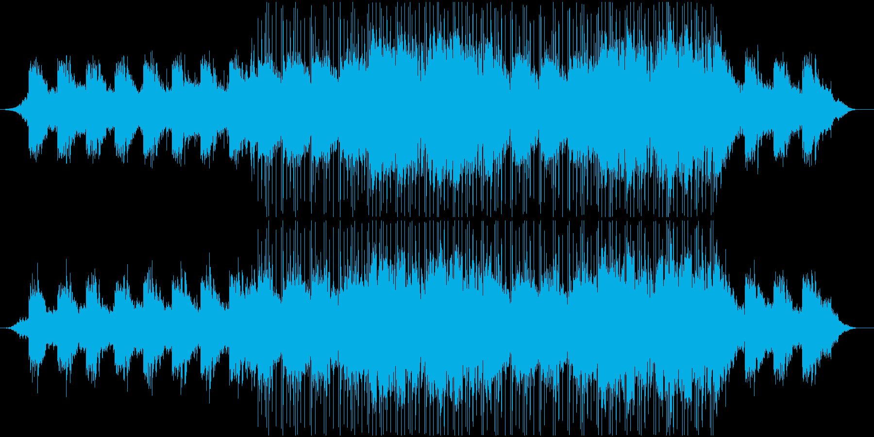 透明感がありアンニュイなBGMの再生済みの波形