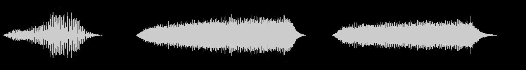 電子エレクトロスペーススワール(3...の未再生の波形