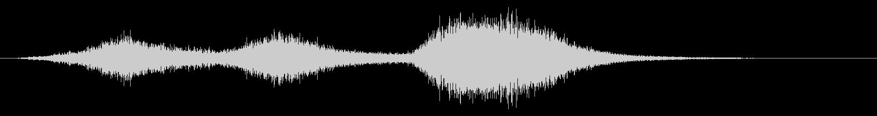 マレボレントスピリット5の未再生の波形