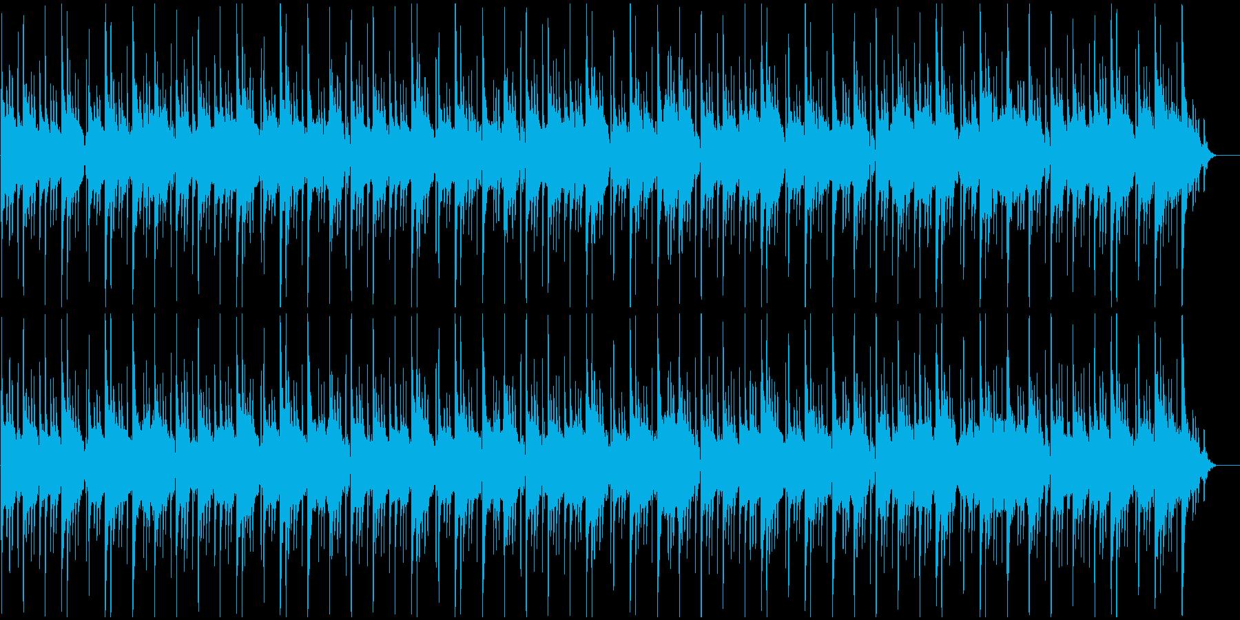 優雅で古典的な雰囲気のBGMの再生済みの波形