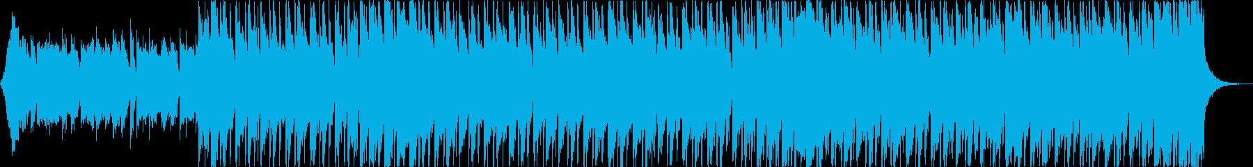 洋楽トラップヒップホップパリピEDMbの再生済みの波形