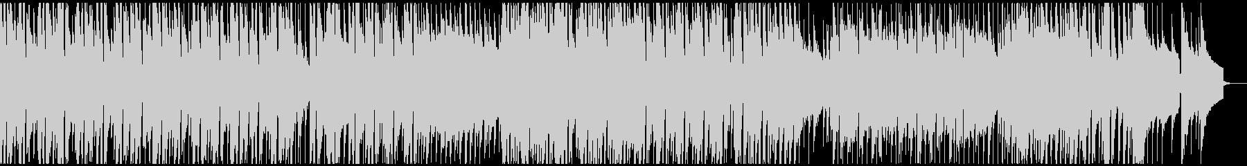 企業VP映像用のあかるい曲の未再生の波形