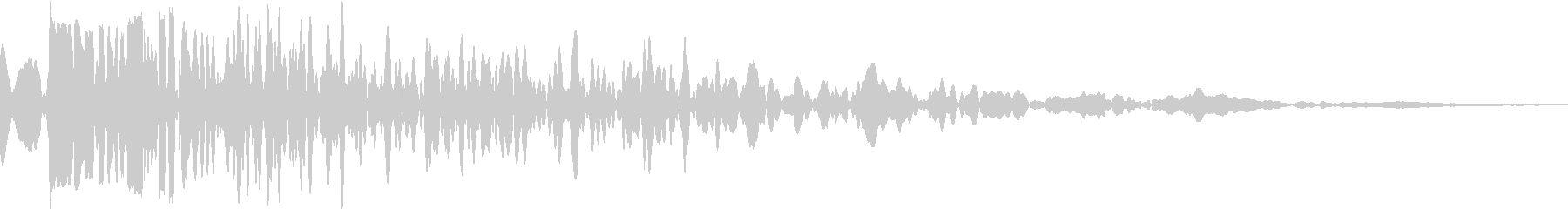 DANK (Sound to strike heavy trees on the floor)'s unreproduced waveform