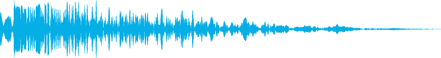 DANK (Sound to strike heavy trees on the floor)'s reproduced waveform