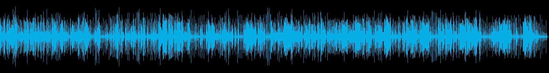 クリアなオルゴール楽曲01(駆動音なし)の再生済みの波形