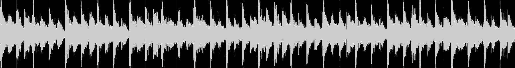 80年代のポップロック調のジングルループの未再生の波形