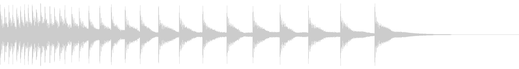 ティンパニ:ハード・ディレライジン...の未再生の波形