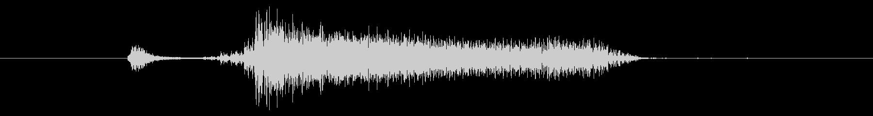 「ンチャー」というバンドのキメのみ演奏 の未再生の波形